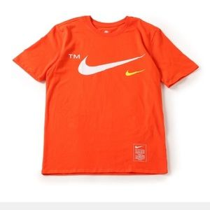 Nike Microbranding short sleeve T-shirt orange